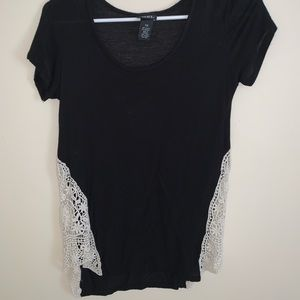 Lacey Black Shirt